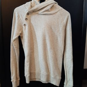 Maison Scotch long sleeve double hooded size small